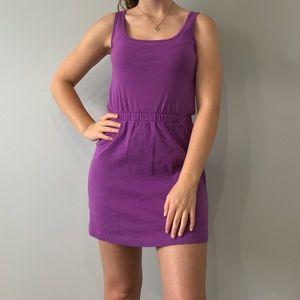American Apparel Purple Dress